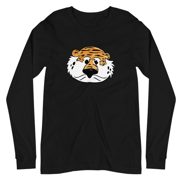 The Aubie Head | Long Sleeve Tee