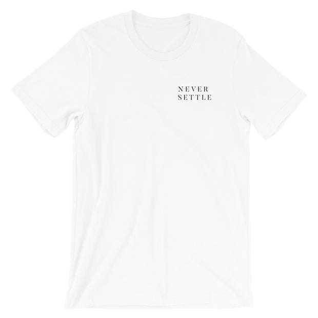 The Never Settle | Tee