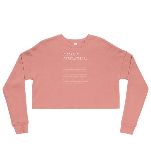 The She Was Beautiful | Crop Sweatshirt
