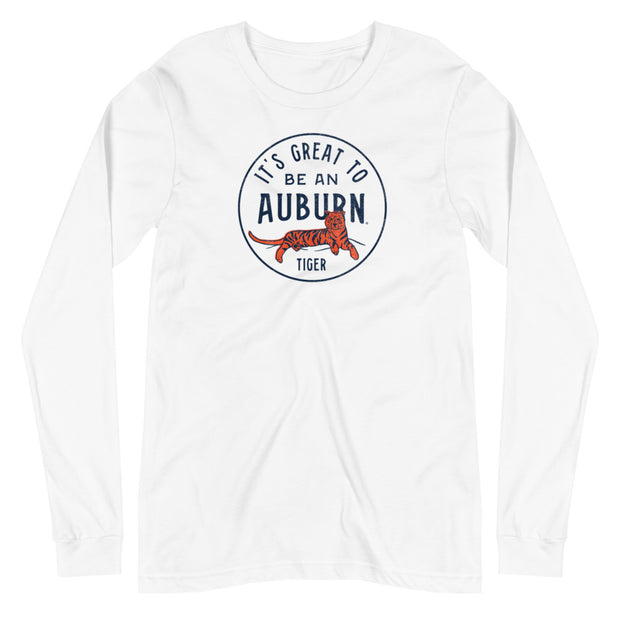 The It's Great To Be an Auburn Tiger | Long Sleeve Tee