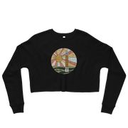 The Denny Chimes Sunset | Crop Sweatshirt