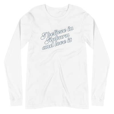 The I Believe in Auburn | Long Sleeve Tee