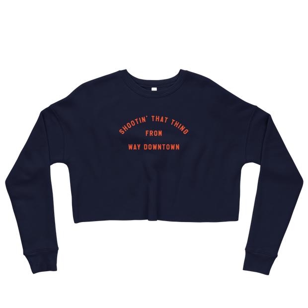 The Shootin That Thing Arch | Crop Sweatshirt