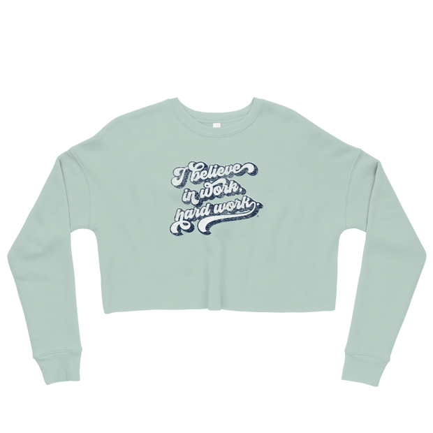 The Creed Script | Crop Sweatshirt