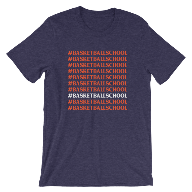 The #BasketballSchool | Tee