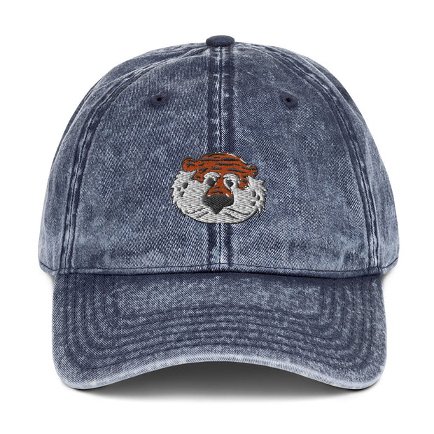 The Aubie Head | Distressed Hat