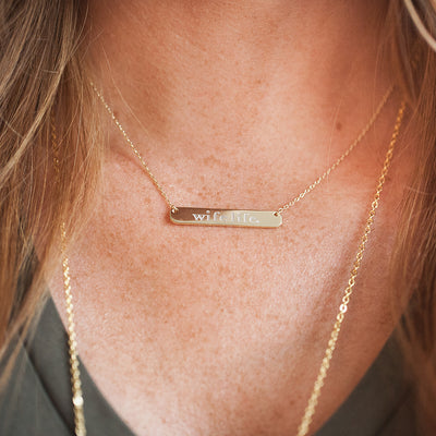 The Wife Life Bar | Necklace