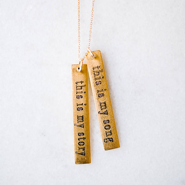 The This Is My Story | Necklace