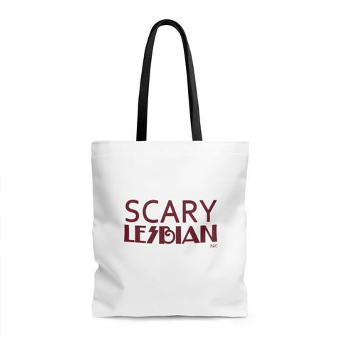 Scary Lesbian - Tote - Bags - Polly and Crackers Apparel