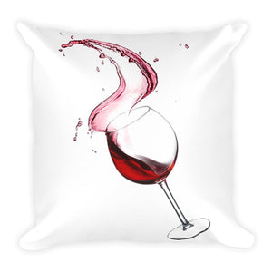 Polly and Crackers Cheers - Square Pillow