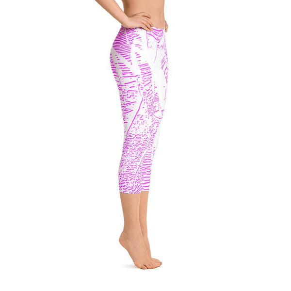 Pink Oasis - Capri Leggings ,  , Polly & Crackers Apparel