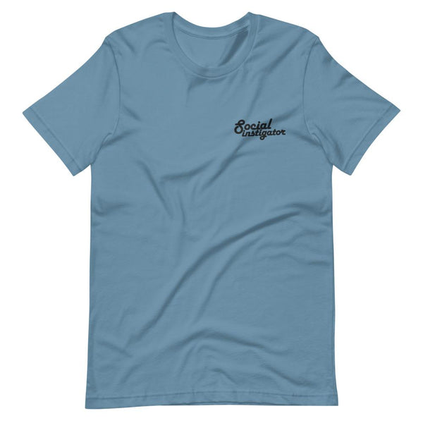 Social Instigator - Embroidered Shirt