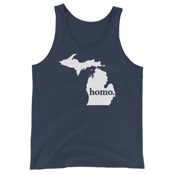 Homo State Tank Top - Michigan - Polly and Crackers