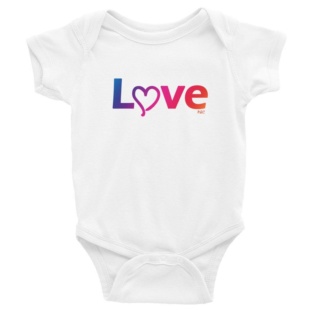 Love - Baby Onesie - Polly and Crackers