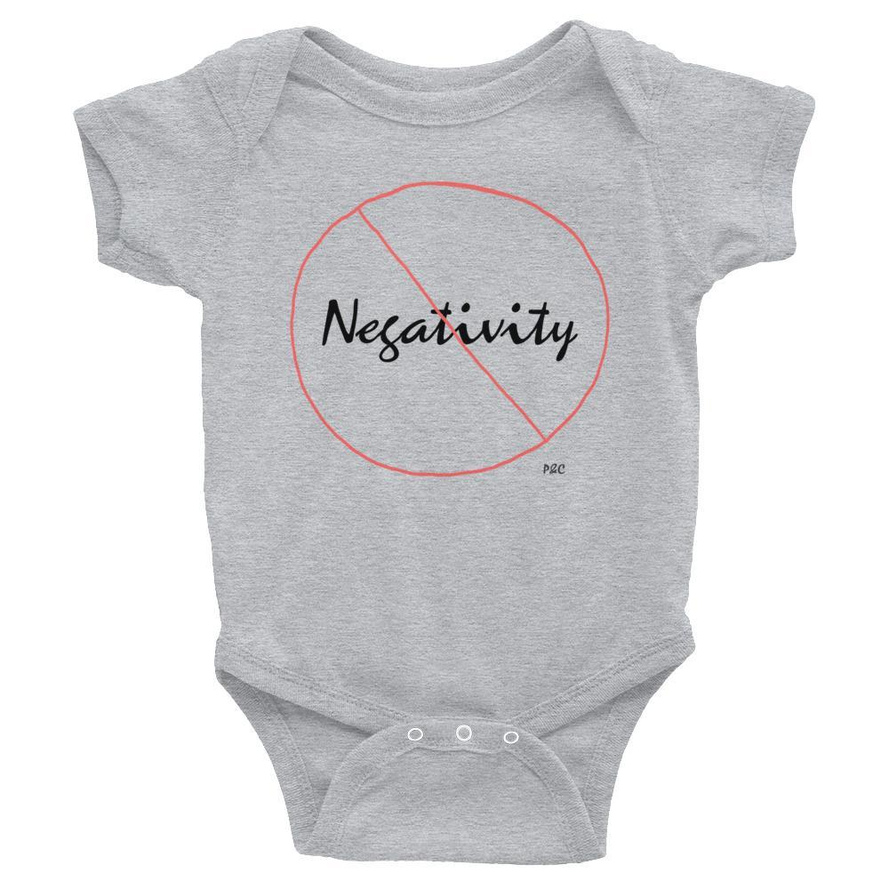 No Negativity - Baby Onesie , Baby Onesie , Polly & Crackers Apparel