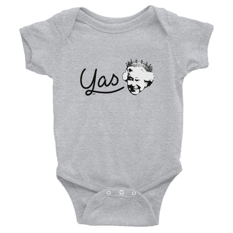 Yas Queen - Baby Onesie , Baby Onesie , Polly & Crackers Apparel