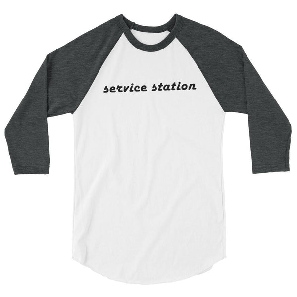 Service Station - 3/4 Sleeve Baseball Tee