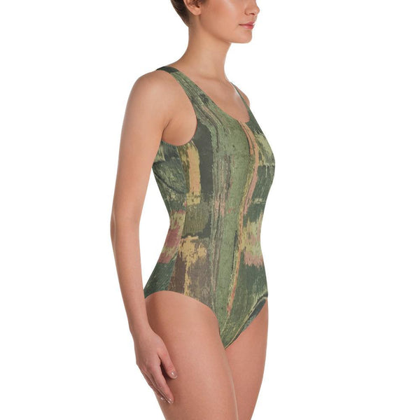 Granny's Drapes - One-Piece Swimsuit - Polly and Crackers