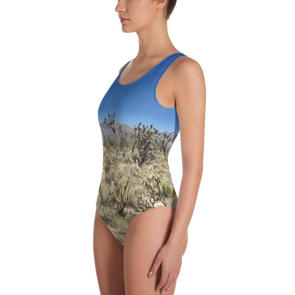 Polly & Crackers Bathing Suit Joshua Trees in the Nevada Desert - One-Piece Swimsuit