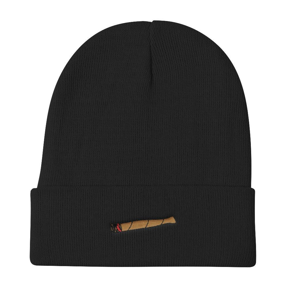 Polly & Crackers Beanie Black Blunt Life - Knit Beanie
