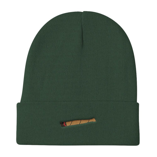 Polly & Crackers Beanie Dark green Blunt Life - Knit Beanie