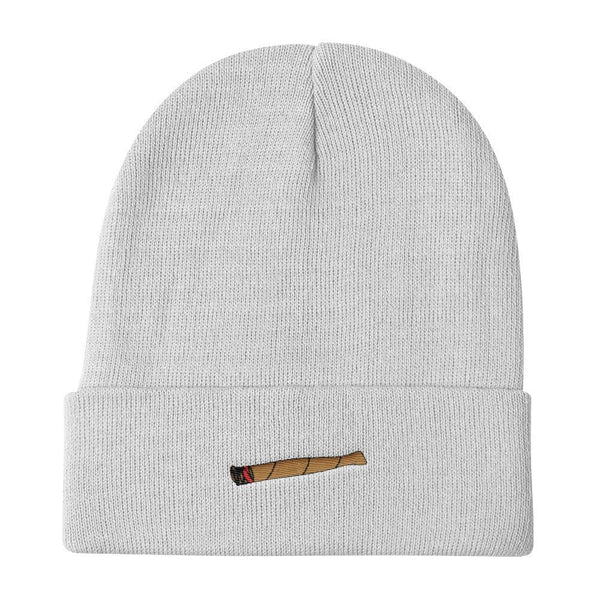 Polly & Crackers Beanie White Blunt Life - Knit Beanie