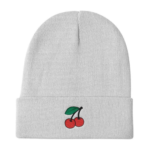 Lucky Cherries - Knit Beanie - Polly and Crackers