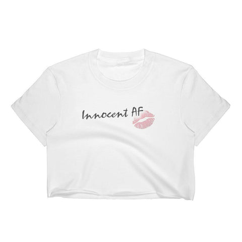 Innocent AF - Crop Shirt - Polly and Crackers