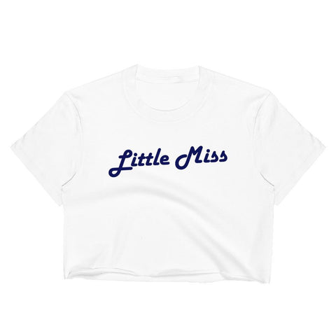 Little Miss - Unisex Crop Shirt - Polly and Crackers