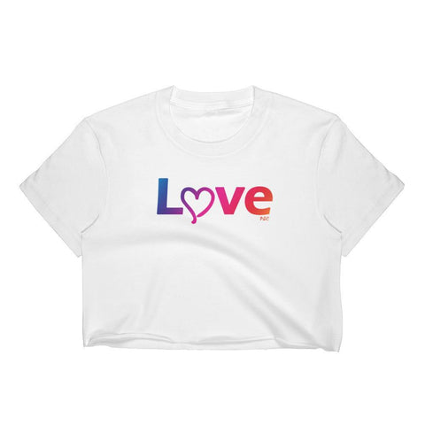 Love - Crop Shirt - Polly and Crackers