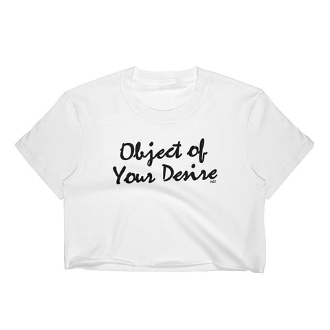 Object of Your Desire - Crop Shirt