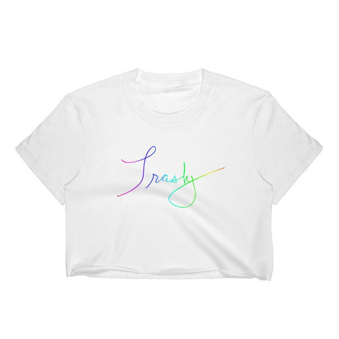 Trashy - Crop Shirt , Crop Shirt , Polly & Crackers Apparel