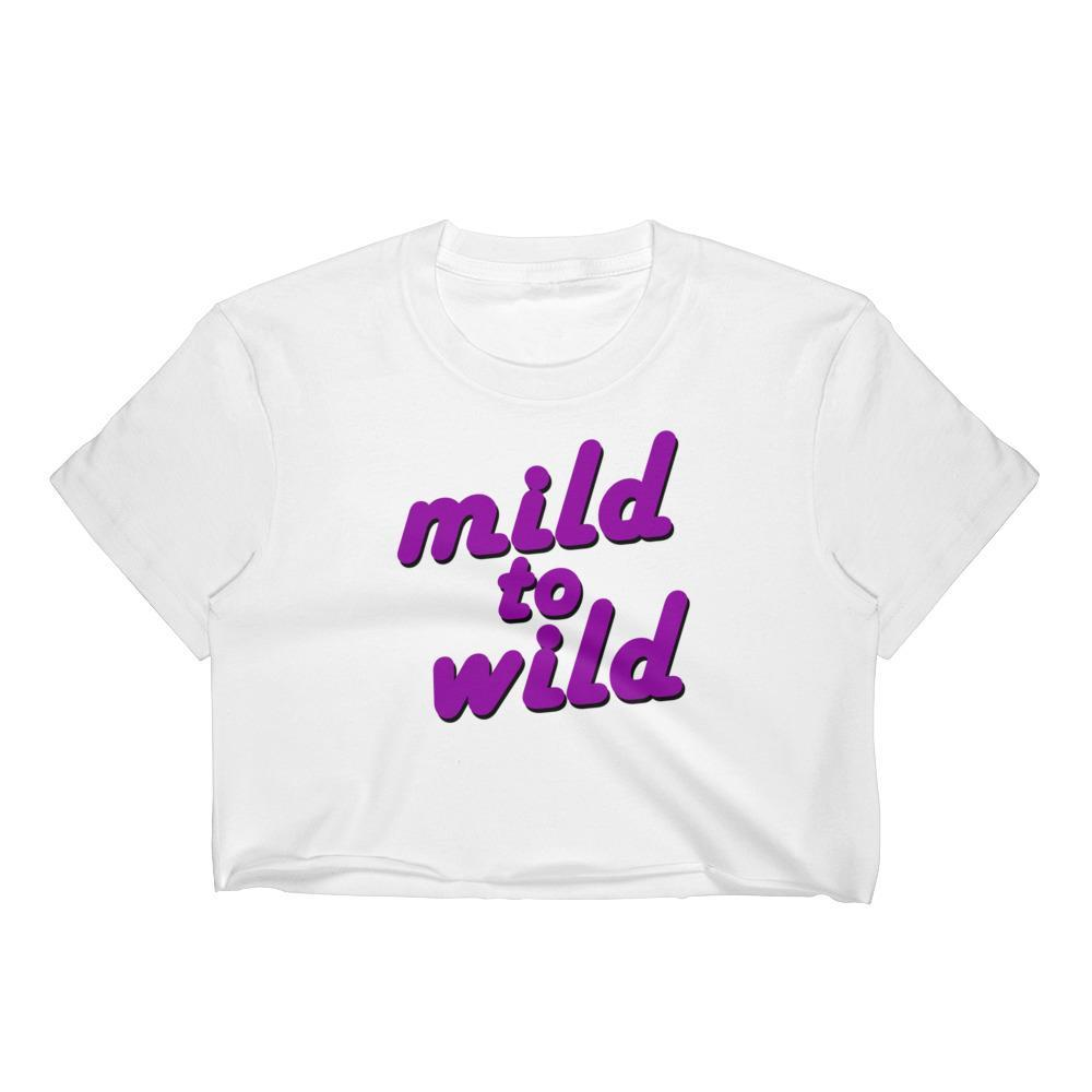 Mild to Wild - Crop Shirt - Polly and Crackers