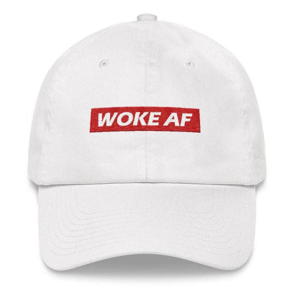 Woke AF - Embroidered Dad Hat