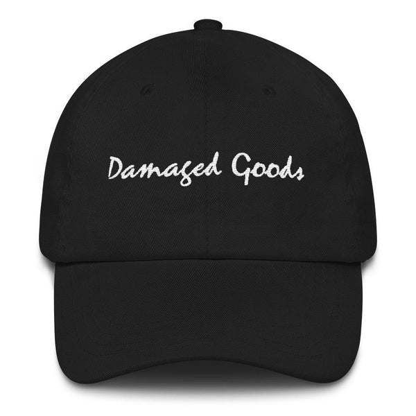 Damaged Goods - Embroidered Hat - Polly and Crackers