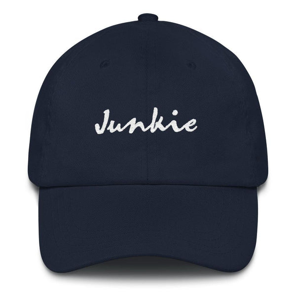 Junkie - Embroidered Hat - Polly and Crackers