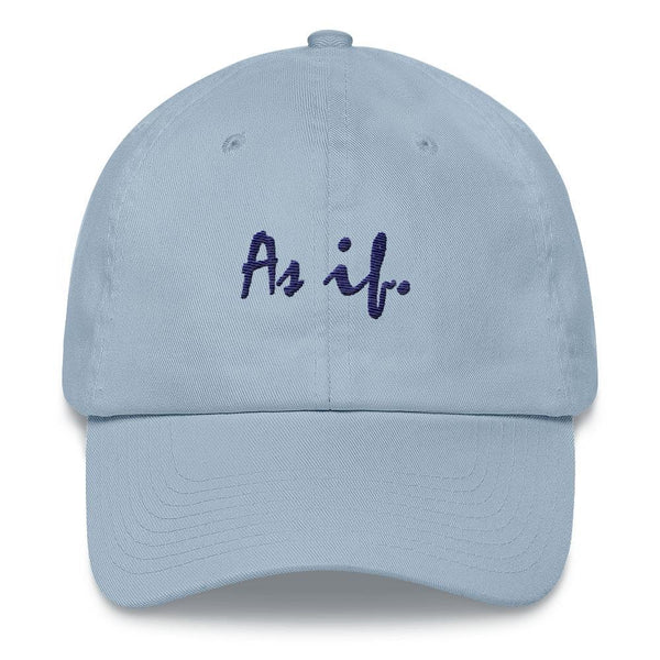 As if - Embroidered Hat - Polly and Crackers