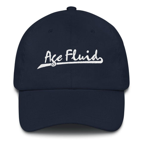 Polly & Crackers Hat Navy Age Fluid - Embroidered Dad Hat