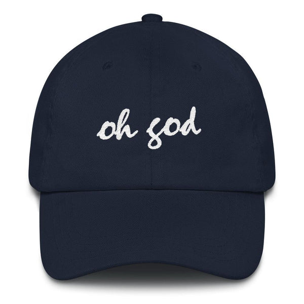Oh god - Embroidered Hat , Hat , Polly & Crackers Apparel
