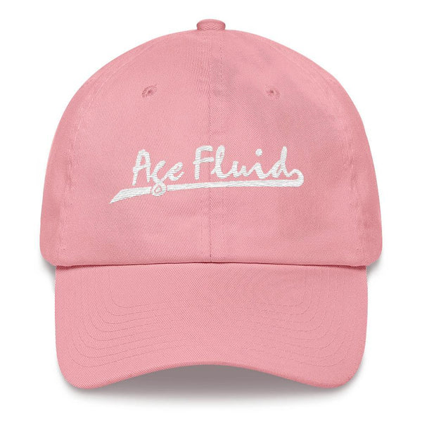Polly & Crackers Hat Pink Age Fluid - Embroidered Dad Hat