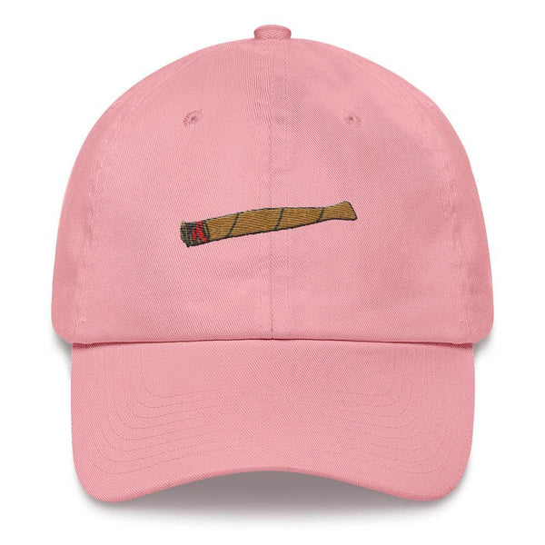 Polly & Crackers Hat Pink Blunt Life - Embroidered Hat