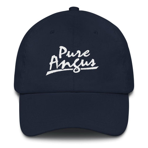 Pure Angus - Embroidered Hat , Hat , Polly & Crackers Apparel