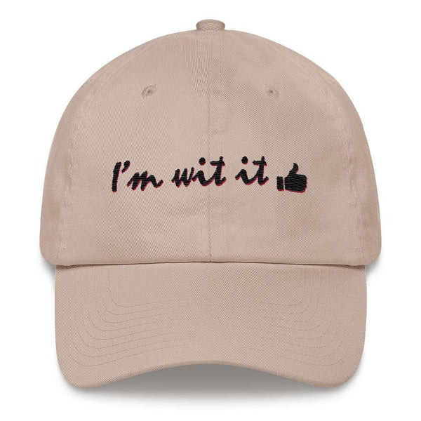 I'm Wit It - Embroidered Hat - Polly and Crackers