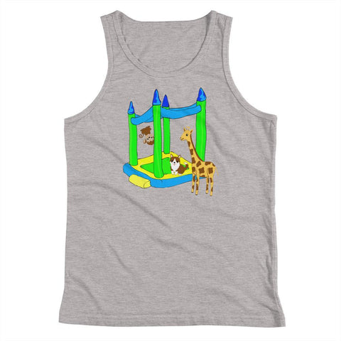 Bouncey House - Kids Tank Top - Polly and Crackers