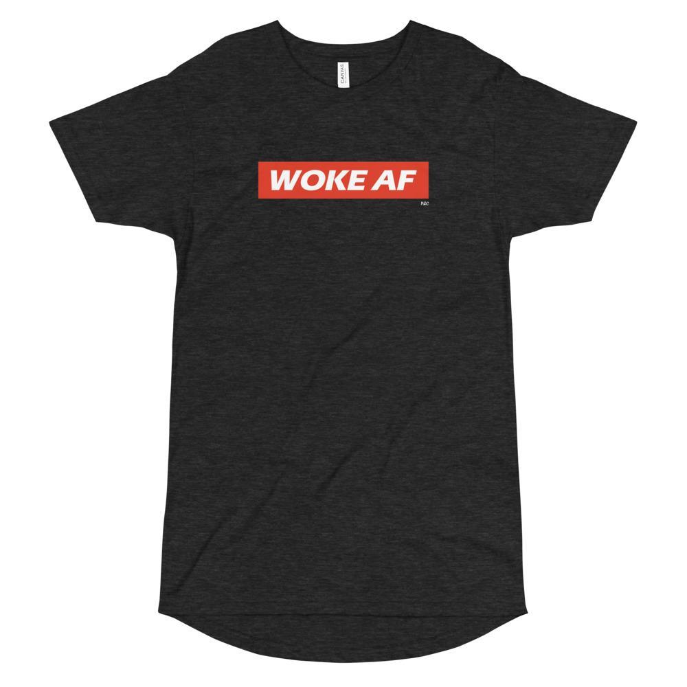 Woke AF - Long Body Urban Tee