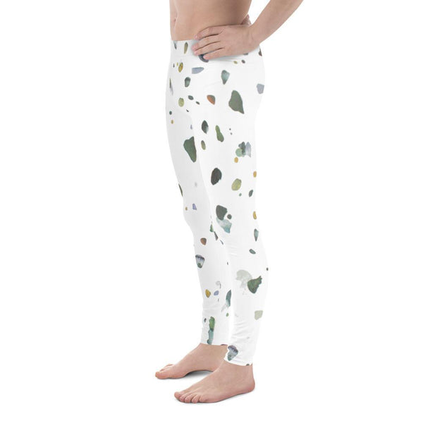 Polly & Crackers Men's Leggings Beach Glass - Men's Leggings