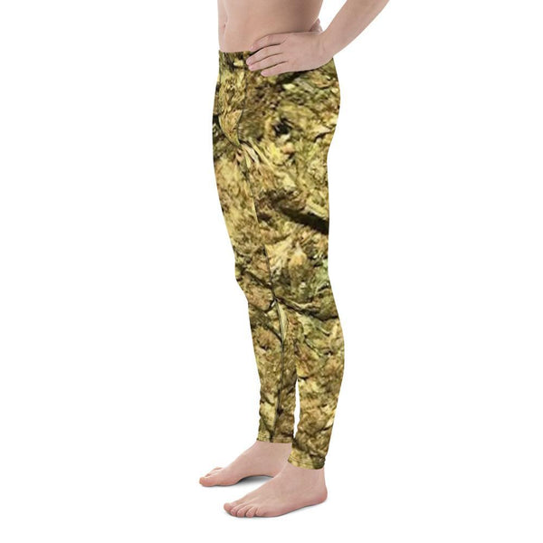 Polly & Crackers Men's Leggings Brick Weed - Men's Leggings