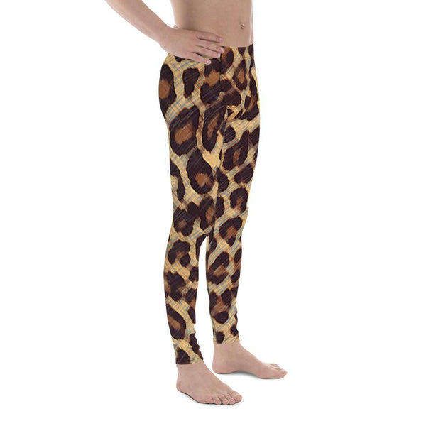 Cheetah - Men's Leggings - Polly and Crackers
