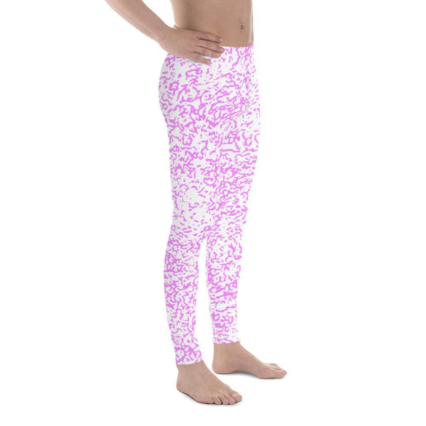 Polly & Crackers Men's Leggings Electric Squigs - Men's Leggings