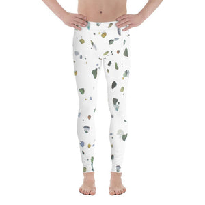 Polly & Crackers Men's Leggings XS Beach Glass - Men's Leggings